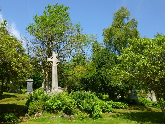 Memorial to Provost Morton