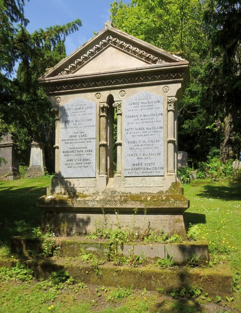 The Lang/MacCallum Memorial