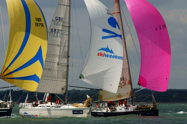 Colourful Cowes