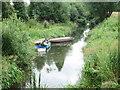 SP4408 : Wharf Stream - Oxford Road by Betty Longbottom
