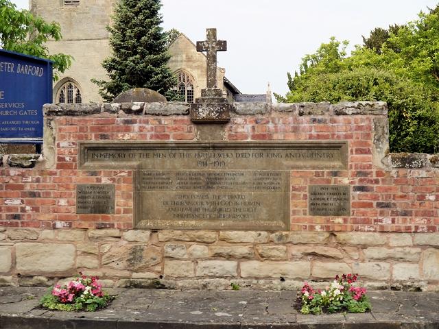 Barford War Memorial