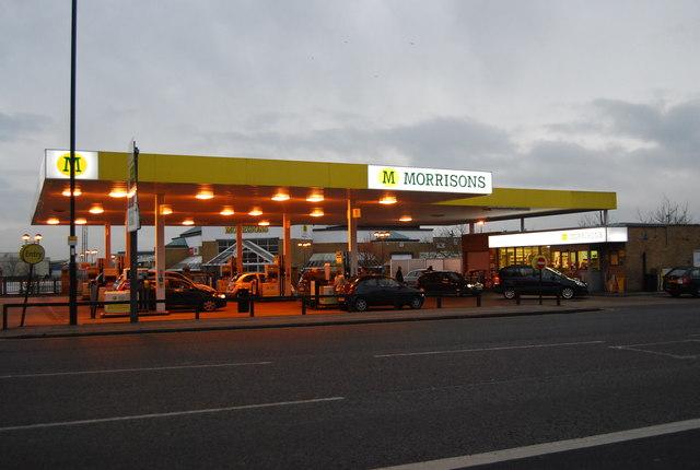 Filling station, Morrisons, Enfield