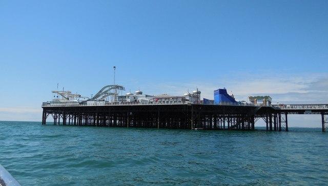 Funfair at end of Brighton Pier
