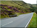 SN9720 : A470 passes over Nant y Gerdinen west of Storey Arms by Jaggery