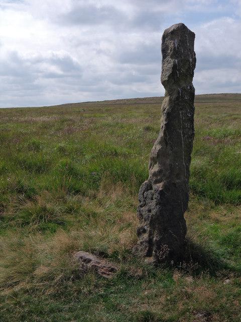 Stone Guide Post