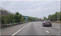 TQ2652 : M25 Junction 8  by Julian P Guffogg