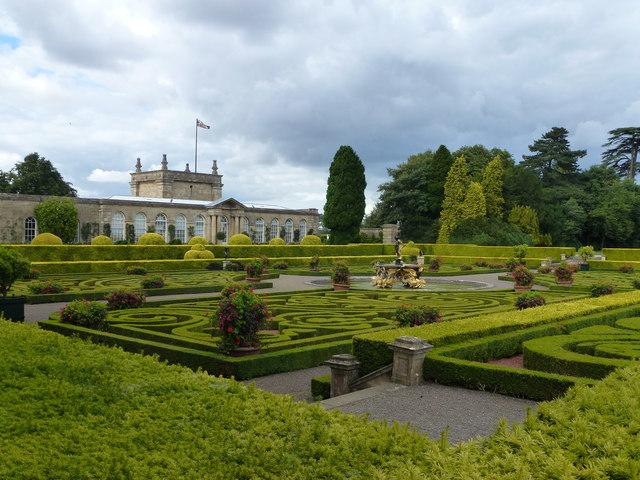 The Italian Garden, Blenheim Palace