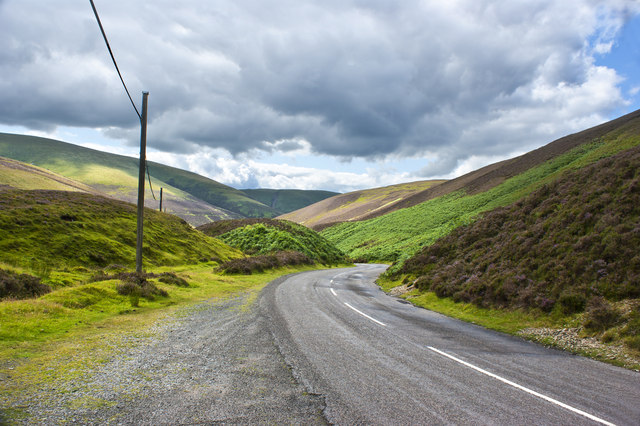 The pass down - still called Main Street since Leadhills
