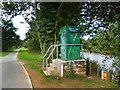 SO5039 : River Monitoring Station by Des Blenkinsopp