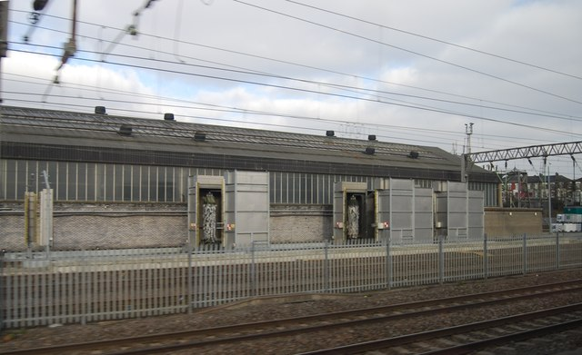 Engine shed, Willesden Junction
