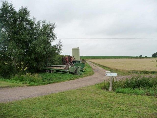 Farm track, Abbey Farm