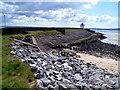 SN4400 : Coastal defences, Burry Port by Jaggery