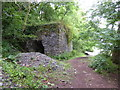 SM9401 : Limekiln by the coastal path by David Medcalf