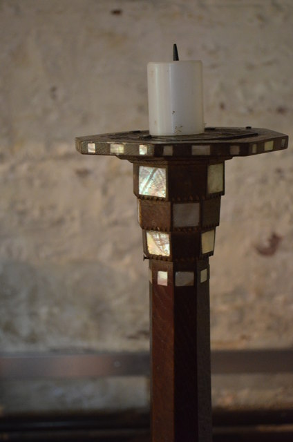 Candle holder, St Edward's church, Kempley