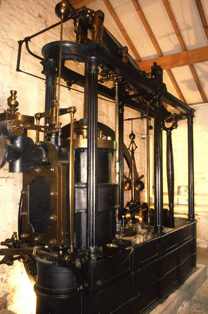 Higher Mill, Helmshore - beam engine