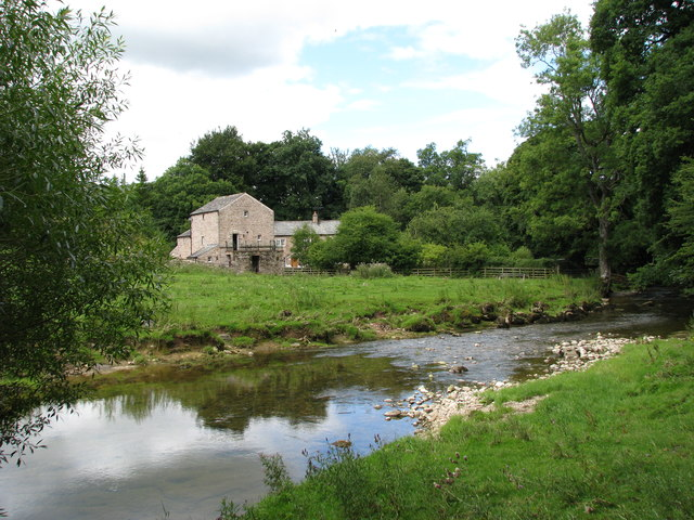 River Lyvennet by the Mill