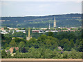 SK8731 : Lincolnshire spires by Alan Murray-Rust