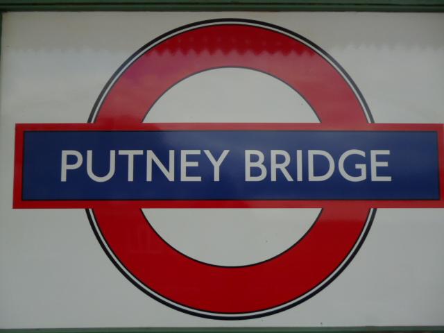 Tube Sign Putney Bridge Underground Robin Sones Geograph