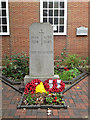 SP1283 : Cenotaph, Garden of Remembrance, Shirley Road, Acocks Green by Robin Stott