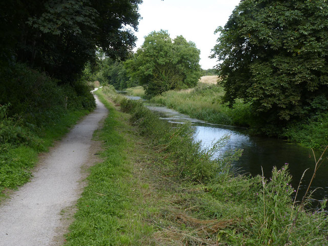 Grantham Canal east of Vincent Bridge
