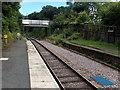 SO0964 : Bridge near the eastern end of Pen-y-Bont railway station by Jaggery
