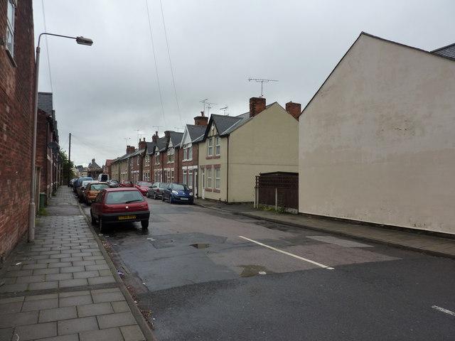 Poplar Street, Mansfield Woodhouse by Peter Barr