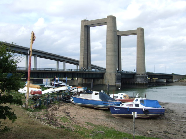 Kingsferry Bridge and the Sheppey Crossing