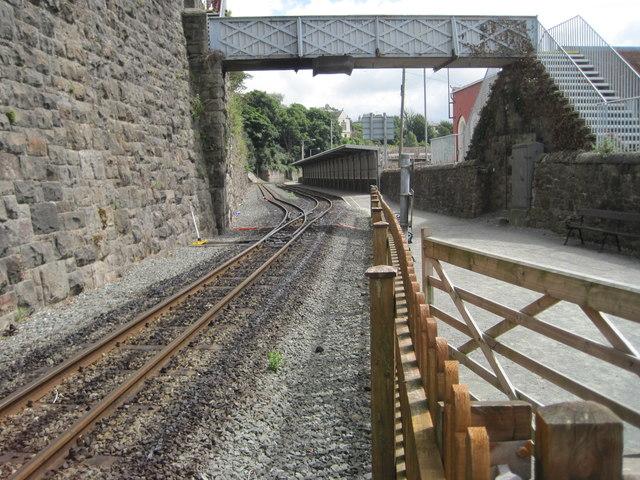 Caernarfon WHR railway station