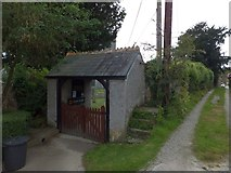 SX4563 : Lych gate for the church at Bere Ferrers by David Smith