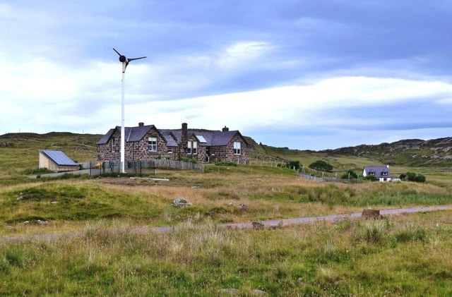 Former Youth Hostel at Stoer