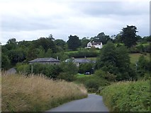 SX4563 : Farms to the north of Bere Ferrers by David Smith
