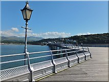 SH5873 : View from Garth Pier by Richard Hoare