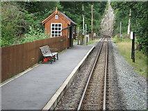 SH5946 : Nantmor railway station, Gwynedd by Nigel Thompson