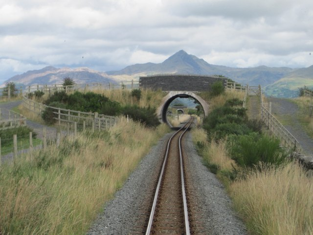 Welsh Highland Railway line