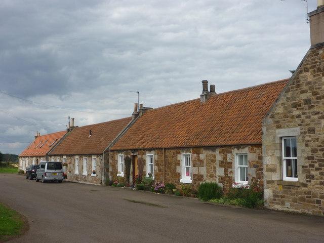 East Lothian Architecture : Cottages At... © Richard West ...