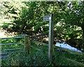NZ1298 : Public footpath to Weldon Bridge by Russel Wills