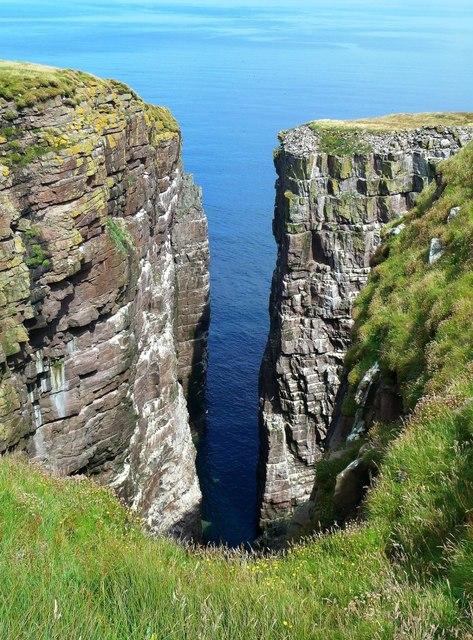 The Great Stack on Handa Island