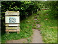 SN9722 : Entrance to a National Nature Reserve in the Brecon Beacons by Jaggery