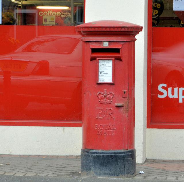 Pillar box, Moira (2013-1)