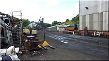 NZ8204 : Grosmont Sidings and Workshops by Richard Cooke