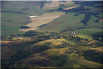 NO1625 : Murrayshall Hill, near Scone, from the air by Mike Pennington