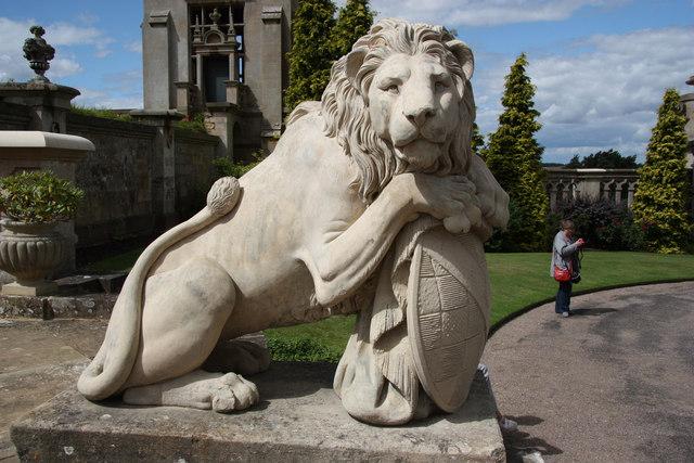 Harlaxton Lion