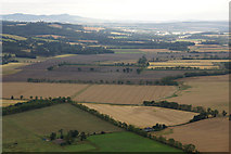 NO2427 : Charlestown, near Kinnaird, from the air by Mike Pennington