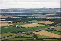 NO2425 : The A90 at Inchmichael from the air by Mike Pennington