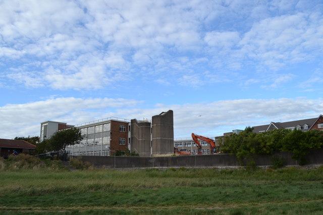 Demolition of the Rear Wing, Land Registry - Birkenhead House, East Beach, Lytham - 3