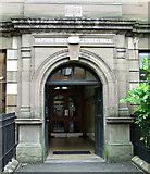 NS5566 : Partick Burgh Halls by Thomas Nugent