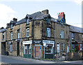 SE3903 : Wombwell - general store at High Street junction by Dave Bevis