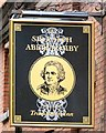SJ8398 : Sign of the Sir Ralph Abercromby by Gerald England