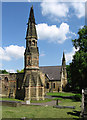 SE3903 : Wombwell - both chapels in Cemetery by Dave Bevis