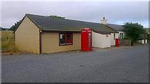 HP6208 : Baltasound Post Office by Mike Pennington